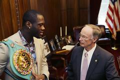 03-05-2015 Visit with WBC Champion Deontay Wilder