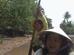 Paddling Down the Canals of Mekong Delta