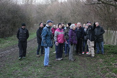 David leading the Dawn Chorus Bird Walk (stephenmid) Tags: alexandrapalace alexandrapark allypally birdbrain