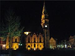 Meinigen/Thüringen - Stadtkirche (town church)