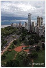 Vista desde arriba del Monumento Nacional Historico a la Bandera (Sebastian Criado) Tags: santafe argentina rosario monumentoalabandera plazabarrancasdelasceibas
