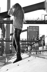 Model (Nic2209) Tags: portrait woman building heritage girl beauty architecture germany deutschland model essen nikon europa flickr industrial route trail wife architektur alemania frau bauwerk industrie ruhr ruhrgebiet mdchen zollverein zeche zechezollverein metropole weltkulturerbe denkmal westfalen fotoshooting ruhrpott 2015 industriekultur kulturerbe kulture allemange nikond5100 nic2209 kiralina