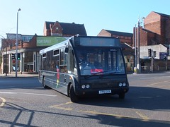 trent barton 439 Nottingham (Guy Arab UF) Tags: nottingham bus buses trent solo barton 439 optare wellglade m920 wellgladegroup fp51gxy