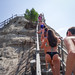 Climbing the volcano