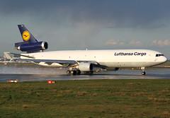 D-ALCK Lufthansa Cargo MD11F (twomphotos) Tags: sunset plane cargo mc 18 douglas runway lufthansa spotting freighter md11 eddf donell boeng fra2
