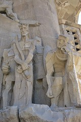 Sagrada Familia (gary8345) Tags: 2016 spain espanya catalonia barcelona barca antonioguadi guadi church cathedral basilica snapseed statue statues carving carvings religious religion