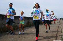 Color Run Hemiksem 2016 (Red Cathedral [FB theRealRedCathedral ]) Tags: sony sonyalpha alpha aztektv eventcoverage obstaclerun ocr a850 redcathedral colorrun colour hemiksem run running runners antwerpen holi summer fun