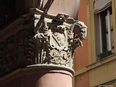 Capitelli Bologna via Santo Stefano (Paolo Bonassin) Tags: italy architecture bologna architettura emiliaromagna capitals capitelli capitalsarchitecture bolognaviasantostefano