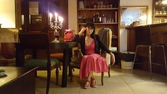 #Waiting #pub #bar #wine #latefriends #onehourlate #wine #patience (! . Angela Lobefaro . !) Tags: latefriends patience wine pub waiting onehourlate bar woman fashion style lifestyle glasses occhiali bag glass valdengo biellese biella piemonte italy italian hair longhair pink dress candels ritratto portrait mephisto mephistoshoes hands feet legs chic fav10 fav20 fav30