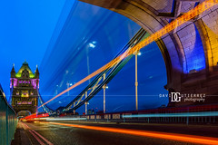 """Symphony of Light"", Tower Bridge, London, UK (davidgutierrez.co.uk) Tags: london architecture city photography davidgutierrezphotography nikond810 nikon art urban londonphotographer color uk night twilight bluehour travel bridge people towerbridge colors colour colours colourful vibrant photographer england unitedkingdom  londyn    londres londra europe beautiful cityscape davidgutierrez capital structure britain greatbritain ultrawideangle afsnikkor1424mmf28ged 1424mm d810 arts landmark attraction historic reflection iconic icon touristattraction riverthames perspective towerhamlets southwark street traffic"