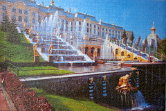 Peterhof Palace (pefkosmad) Tags: jigsaw puzzle leisure hobby pastime russia fountains paterhofpalace building architecture palace photograph