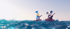 friend (Young's Lego) Tags: lego legography photo photography friend disney sea mickey donuld mouse duck life