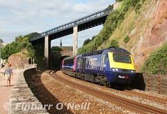 Teignmouth (finnyus) Tags: teignmouth 43025 hst gwr greatwesternrailway highspeedtrain intercity125 hst125 ic125