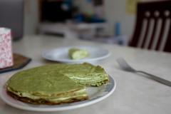 DSCF3393 (Jolene Jiang) Tags: summer ny cake dessert baking homemade crepe sweets fujifilm matcha greentea amateur creampuff millecrepe x100s
