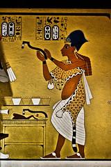 the bar tender (obsidiana10) Tags: art sony exhibition jewels a77 egyptianart