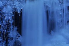 Silky (noahtaylor3) Tags: ice nature water river waterfall nikon d5000