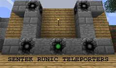 Sentek Runic Teleporters Mod (MinhStyle) Tags: game video games gaming online minecraft