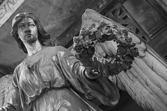 Timeless (stopdead2012) Tags: monochrome cemetery graveyard statue angel germany crimmitschau