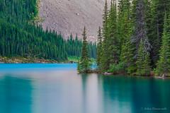 on point (john dusseault) Tags: trees morainelake longexposure water rockies canada alberta