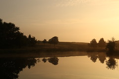 Little Barbrook Dawn (Derbyshire Harrier) Tags: littlebarbrook derbyshire reflection silverbirch pool bigmoor barbrook dawn moorland 2016 mist easternmoors rspb nationaltrust sunrise