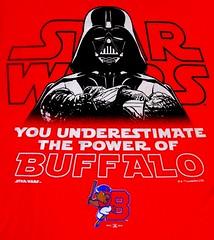 B6908 T-Shirt * Buffalo Bisons/Darth Vader (sabre11richard) Tags: darth vader you underestimate power minor league international triple affiliate toronto blue jays aaa