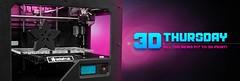 3D Thursday Banner (adafruit) Tags: 3d printing hero banners thursday