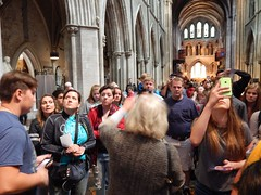 We are introduced to St. Patrick's (BBuzz1) Tags: saintpatrickscathedral westsalemhighschool westsalemhighschoolfrench wshsfrench wshseurotrip dublin