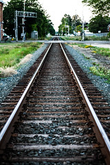 Can't Find My Way (smileyLife) Tags: chathamkent railroad tracks town ontario trains dirt vintage retro summer 2016 canada vivid