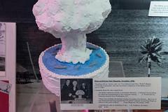 DSCF1593.jpg (mikepirnat) Tags: losalamos losalamoshistoricalmuseum newmexico atomicbomb cake food history museum photography replica travel vacation