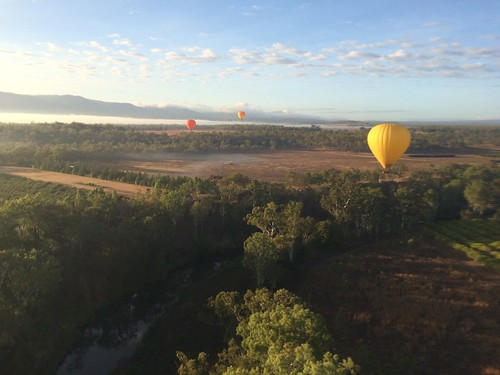 Ballon flight in Cairns