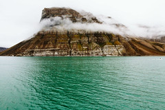 Svalbard Coast (danielfoster437) Tags: arctic svalbard natuur landscape archipelego naturelandscapewithwater geography tundra fjord naturelandscape spitsbergen extremeterrain terrian outdoors seascape adventure coast landfeature mountain