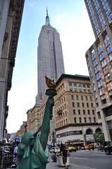 Empire State Building (letkata) Tags: nyc 5thavenue usa lady newyork manhattan empirestatebuilding