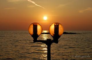 Golden Mediterranean Sunset