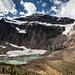 Angel Glacier under Mt Edith Cavell.
