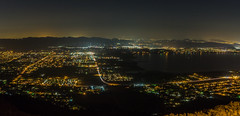 Lake Elsinore panorama (mojave955) Tags: california southerncalifornia socal lakeelsinore riversidecounty  canon 7dmarkii  unitedstatesofamerica usa northamerica westcoast longexposure panorama