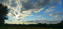 2016_0827Sunset-Pano0001 (maineman152 (Lou)) Tags: panorama sun sunset settingsun clouds sunsetclouds sky skycolor skycolors skyscape skyscene skyview nature naturephoto naturephotography landscape landscapephoto landscapephotography summersky summer august maine