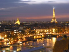 places-with-most-beautiful-scenery-Paris-Skyline-at-night