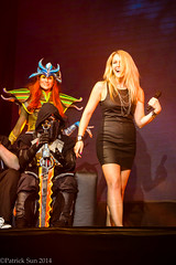 SP_17957 (Patcave) Tags: costumes atlanta party game canon eos is photo costume pc video cosplay stage culture center pop gaming fantasy scifi videogame launch f40 70200mm 2014 smite patcave 5d3 smite2014