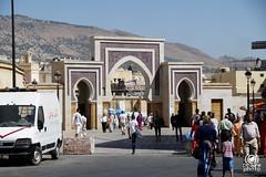 Porte d'ingresso (andrea.prave) Tags: morocco fez maroc marocco medina fes suk suq   centrocitt almamlaka   sq visitmorocco almaghribiyya tourdelmarocco