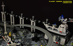 24_Power_plant (LegoMathijs) Tags: expedition wire energy power lego crystal space el vehicles technic modular planet scifi 20 monorail functions mindstorms containers miners moc units nxt ores legomathijs oswion