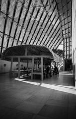 Restaurant (Svenjanein) Tags: blackandwhite art museum modern jean duke grand exhibitions ronan luxembourg erwan sonnenstrahl impei bouroullec 貝聿銘 盧森堡 mudam 當代美術館 schwarzundweis