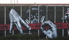 """My name is MO"" (MTO (Graffiti Street art)) Tags: usa streetart giant graffiti bluegrass lexington kentucky mo bourbon distillery mto mynameismo"