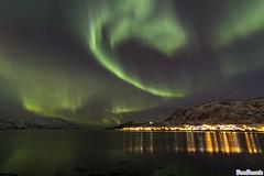 Aurora @ Skulsfjord, Norway (FotoFanatic.nl) Tags: green water norway night golf lights groen nacht wave aurora fjord nightsky northern borealis noorwegen nordlys poollicht noorderlicht fotofanatic fotofanaticnl