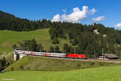 ÖBB 1116 127 mit Russenzug (TheKnaeggebrot) Tags: zug express taurus moskau öbb nizza 1116 österreichische personenzug bundesbahnen giselabahn russenzug