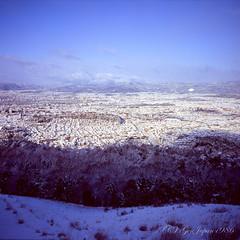 (GenJapan1986) Tags: winter snow film japan landscape kyoto      2015      fujifilmvelvia100f fujifilmgf670wprofessional