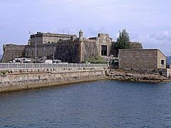 Castelo de Santo Antn (tunante80) Tags: espaa praia faro mar spain corua playa paseo galicia galiza estadio atlantico deportivo maritimo riazor torredehercules orzan crunia