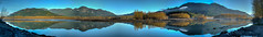 Fraser River - Fairfield, Chilliwack, BC Canada (Ryan Dyck) Tags: blue trees sky panorama orange mist mountain lake green art water weather clouds photoshop wow spectacular landscape photography amazing rocks artist lakes creative peak photograph rivers hdr stiched lightroom 2015 ryandyckphotography screnics