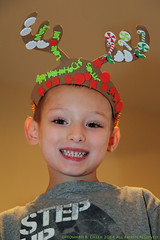 Dylan 'Rudolf' Cheek (HowardCheekPhotography.com) Tags: christmas people holiday children reindeer crafts rudolf
