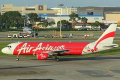 9M-AQM Airbus A320 Air Asia