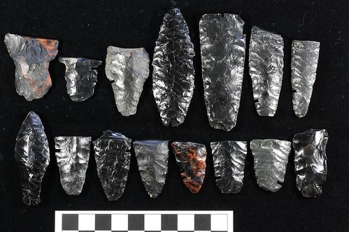 artifacts found at Rimrock Draw Rockshelter